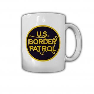 United States Border Patrol USA Abzeichen Amerika Grenzschutz - Tasse #26808
