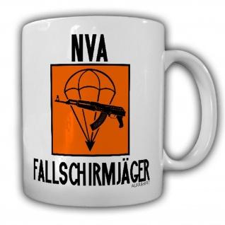 Tasse NVA Fallschirmjäger DDR Veteran Reservist Prora LStR Abzeichen #25775