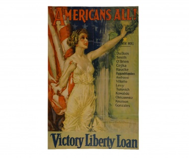 Poster Americans all Victory liberty loans Military US Army ab 30x21cm #30848