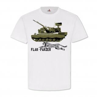 Bundeswehr Flak Panzer Gepard Bundeswehr Flugabwehrkanonenpanzer T Shirt #14497