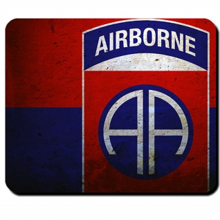 82nd Airborne Division Luftlandedivision All American Honor Mauspad #15645