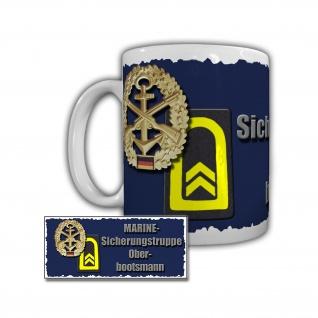 Tasse Marine Sicherungstruppe Oberbootsmann Schnelles Minenjagtboot #29329