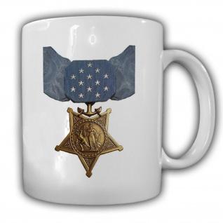 Medal of Honor Navy Marine Corps Us Army Orden Medaille Amerika Tasse #15355