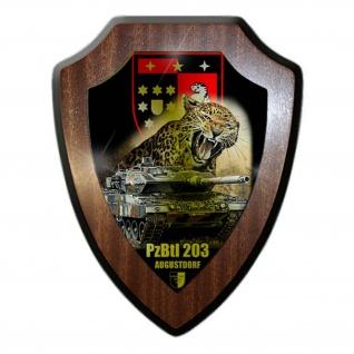 Wappenschild Lukas Wirp PzBtl 203 Bundeswehr Augustdorf Leopard Panzer #24409