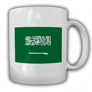 Königreich Saudi Arabien Fahne Flagge Kaffee Becher Tasse #13884