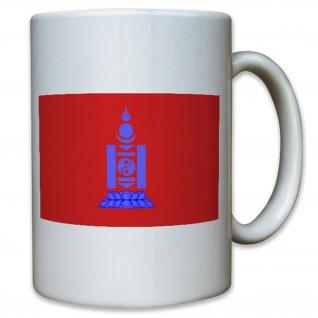 Republik Mongolei Republic Of Mongolia 1924 Bis 1940 Fahne Flagge - Tasse #13034