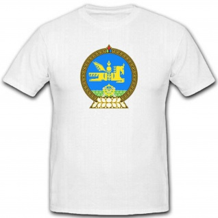 Mongolei Wappen Mongolische Volksrepublik Emblem Abzeichen T Shirt #2435