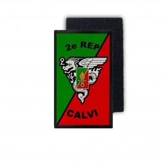 12x7cm Patch 2e REP CALVI régiment étranger de parachutistes #36615