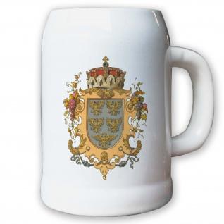 Krug Bierkrug 0, 5l Erzherzogtum Österreich unter der Enns Niederösterreich #9451