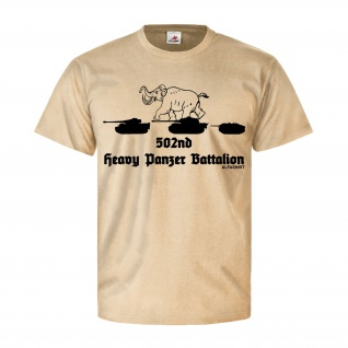 502nd Heavy Panzer Bataillon Schwere Panzerabteilung Tiger - T Shirt #26887