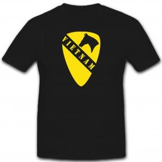 Us Air Kavallerie Division Us AirCavDiv Militär Armee Vietnam War T Shirt #2508