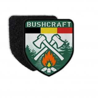 Patch Bushcraft Belgium Belgien Survival Outdoor Wald Prepper Abzeichen #34637