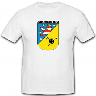 Bundeswehr Wappen Abzeichen Emblem Aufklbtl 910 910 - T Shirt #5173