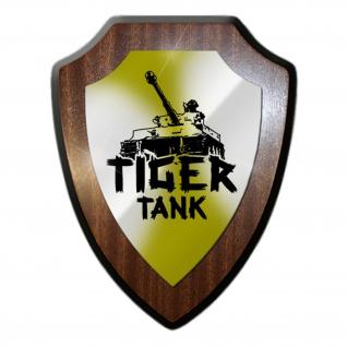 Wappenschild Tiger Panzerkampfwagen division Einheit Armee Militär Emblem#19785