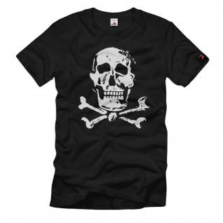 Totenschädel Skull Knochen Schädel Gothic Szene Hemd - T Shirt #34