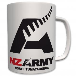 Nz Army Neuseeland Militär Streitkräfte Wappen Abzeichen Emblem - Tasse #6409