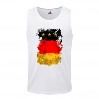 Germany Germania German Deutschland BRD Fahne Flagge Flag - Tanktop / #5278