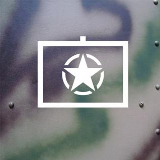 Aufkleber/Sticker US Army Taktisches Zeichen Allied Star 18x14cm #A129