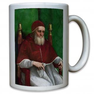 Papst Julius II Vater Oberhaupt Jesus Christen Religion Katholisch Tasse #10768