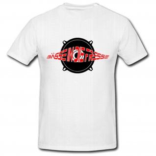 Bässe in die Fresse Techno Hardcore ETC - T Shirt #918