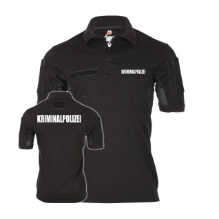 Tactical Kriminalpolizei Poloshirt Alfa Sicherheit Kripo Polizei #30132
