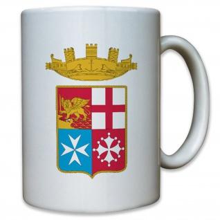 Flotta Della Marina Militare Militär Abzeichen Wappen Einheit - Tasse #13065