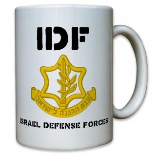 IDF Israelische Verteidigungsstreitkräfte Israel Wappen Abzeichen Tasse #12697