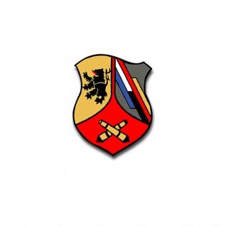 4 Feldartilleriebataillon 295 Abzeichen Wappen Bundeswehr Aufkleber 7x5cm #A4467