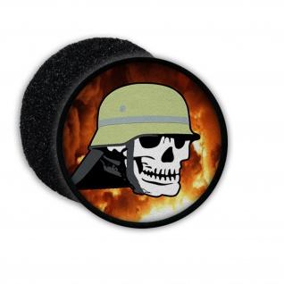Patch Feuerwehr Feuerwehrmann Freiwillige Helm Moral Skull Totenschädel #21386