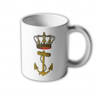 Tasse Embleem Koninklijke Marine Niederlande Holland #33015