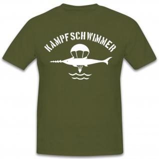 Kampfschwimmer Typ2-Hemd Marine Taucher Kompanie - T Shirt #11182