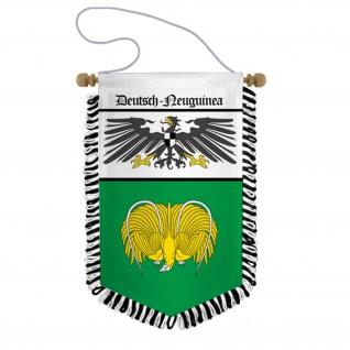Wimpel Deutsch Neuguinea Kolonialbund Samoa Südsee Geschichte Andenken #31237