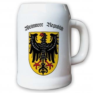 Krug / Bierkrug 0, 5l - Weimarer Republik parlamentarische #9406 K