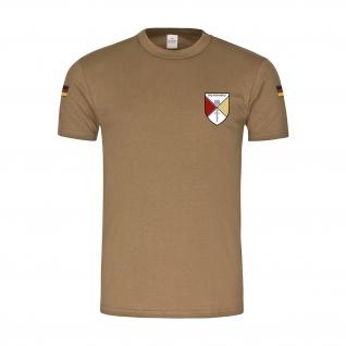 BwTropen StKp PzGrenBrig 1 Großverband Heer Bundeswehr Wappen T-Shirt#34933