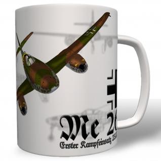 Tasse Me 262 Flugzeug Luftwaffe Strahltriebwerke Jäger Schwalbe #4071t