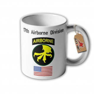 Tasse 17th Airborne Division United States Army Us Paratrooper Wappen #32279