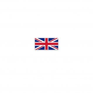 Aufkleber/Sticker Vereinigtes Königreich Flagge United Kingdom 7x3, 5cm A3227 - Vorschau
