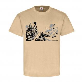 Kreuz Soldat KSK Militär Army Einheit Spezialeinheit T Shirt #23269
