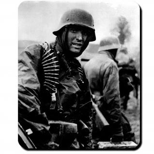 Deutscher Soldat Ardennen 1944 Wh Offensive Deutschland Wk Foto - Mauspad #9882