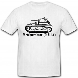 Leichttraktor Vk31 Panzer Militär Experimental Deutschland - T Shirt #4574