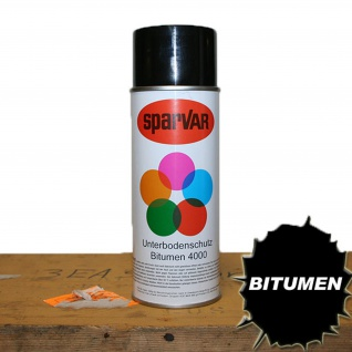 Bitumen Unterbodenschutz 4000 Antidröhnwirkung Korrosionsschutz #12691