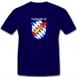 Wappen Flarakbtl 32 Deutschland Militär Wappen Abzeichen - T Shirt #4958