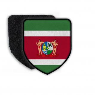 Patch Flagge von Suriname Stolz Ehre Vaterland Land Wappen Flagge#21703