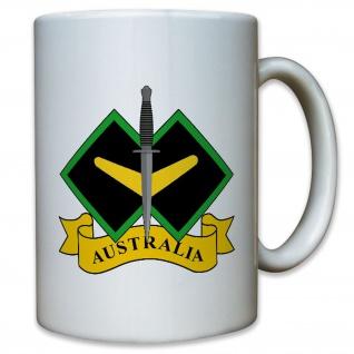 Australische Streitkräfte Schwert Australia Army Wappen Abzeichen - Tasse #11373