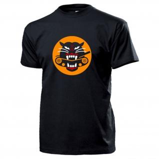 Tank eating tiger Us Army Panzer Wappen Logo Zerstörer Abzeichen T Shirt #17387
