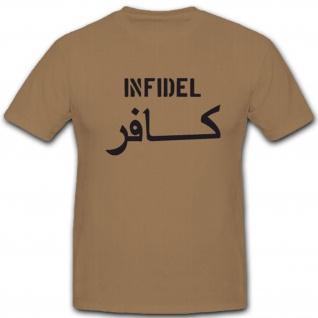 Infidel Army - T Shirt #4000