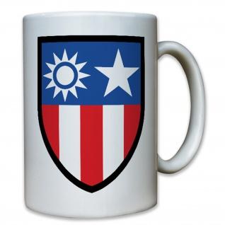 China Burma Command CBI WK 2 Militär USA Amerika Abzeichen - Tasse #8499