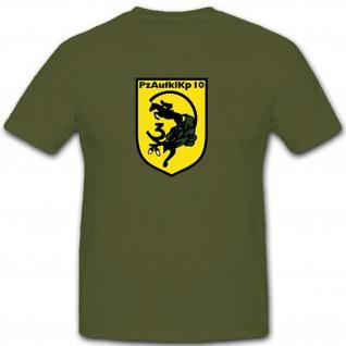 PzAufklKp 10 - Panzeraufklärungskompanie 10 Bundeswehr Deutschland T Shirt #9091
