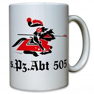 sPzAbt 505 schwere Panzer Abteilung Heer Tiger Panzer Wk 2 WW II - Tasse #11532