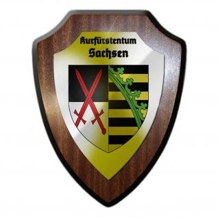 Wappenschild Kurfürstentum Sachsen Abzeichen Wappen Kursachsen #24788